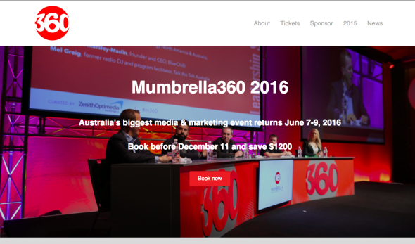 Mumbrella360 website